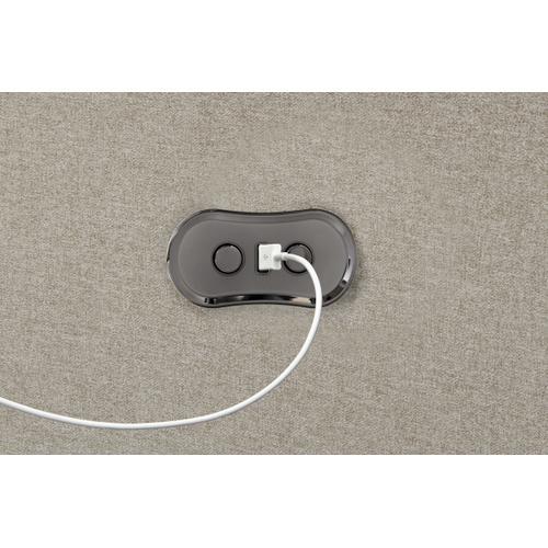 Jackson Furniture - Happy Place Power Lay Flat Reclining Sofa Metal