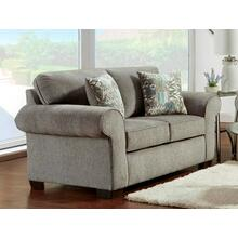 Marcy Nickel Loveseat