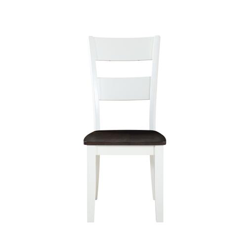 Emerald Home Furnishings - Table & 6 Chairs Two Tone