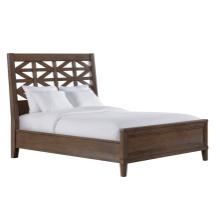 See Details - Queen Lattice Panel Bed