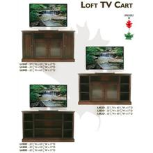 Loft TV Cart Collection