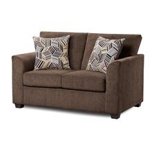 View Product - Kennedy Chocolate Loveseat