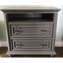 Grey TV Chest