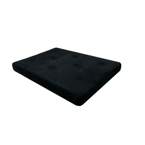8 Inch Foam Futon Mattress Black Twin Size