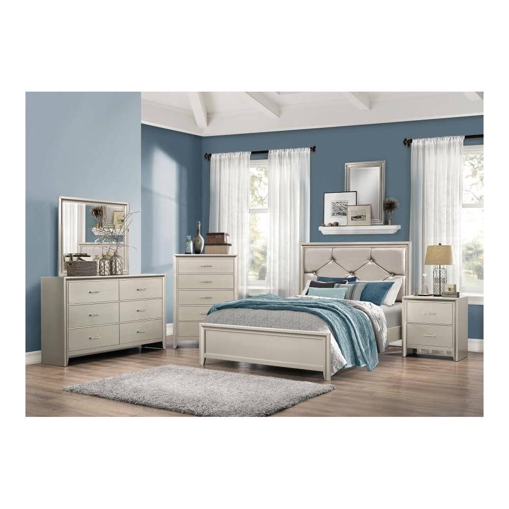 Lana 4Pc Full Bed Set