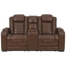 Backtrack PWR Reclining Loveseat/CON/ADJ HDRST