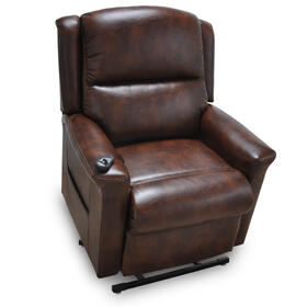 The Province Lift Recliner-Chocolate