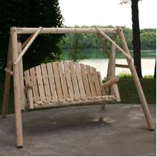 See Details - 5 Ft. Log Yard Swing