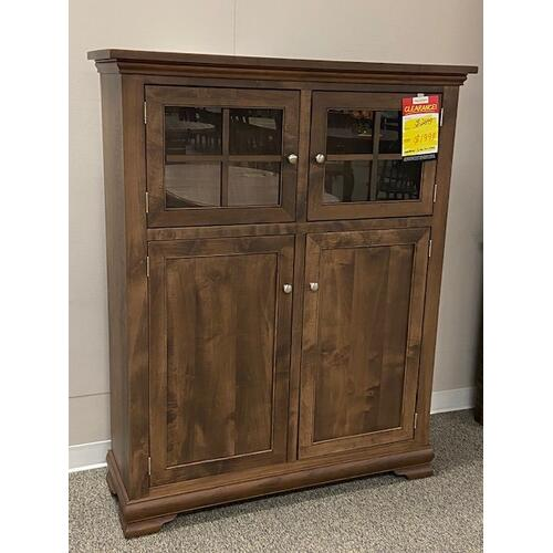 Amish Craftsman - 2 Door Mini Hutch