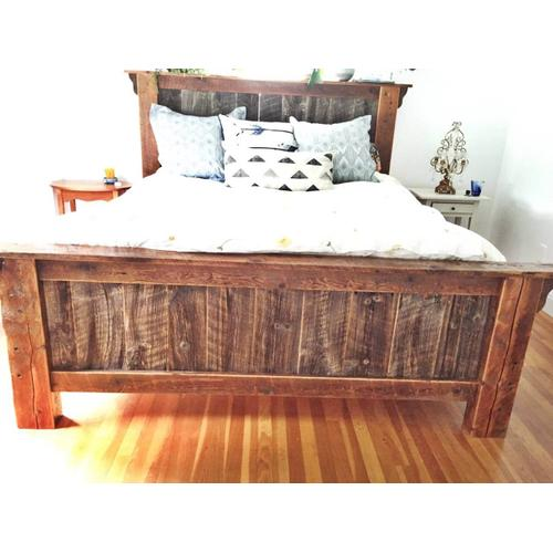 Cozy Creations Collection - Barn Board Timber Bed