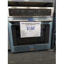 "Cafe 27"" Single Electric Wall Oven CK7000SHSS (FLOOR MODEL)"