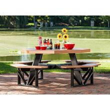 See Details - Octagon Picnic Table