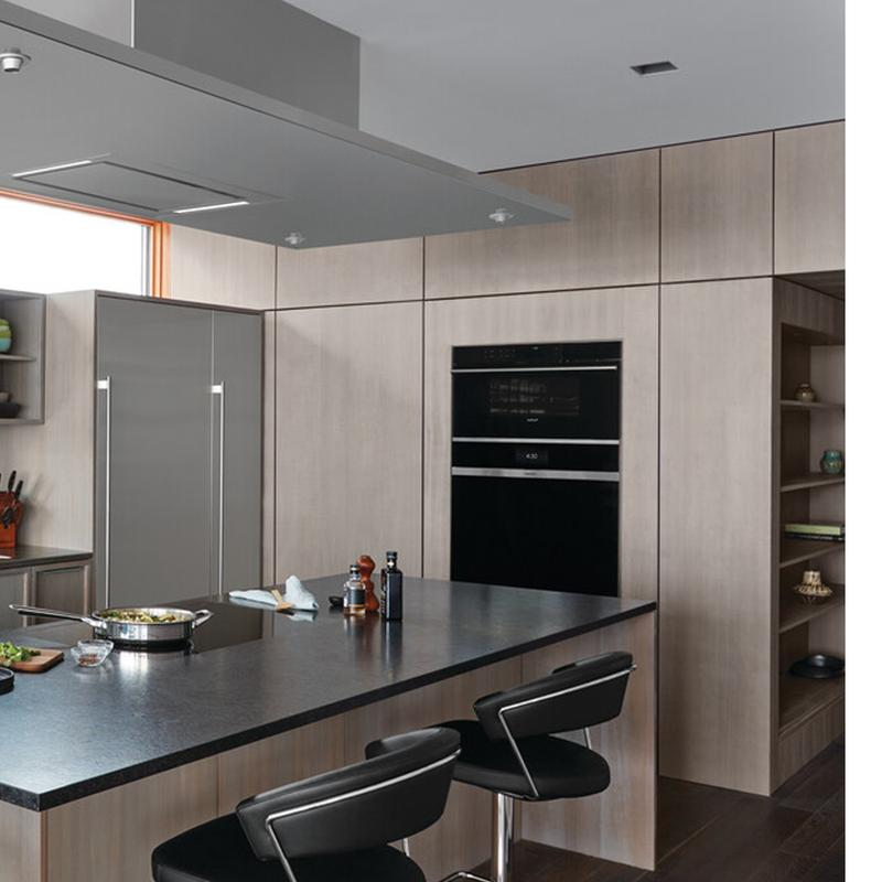 """30"""" M Series Contemporary Stainless Steel Convection Steam Oven with Retractable Handle"""