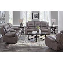 Jamestown Smoke Power Reclining Sofa and Loveseat