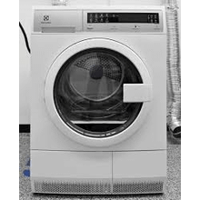 FLOOR MODEL MOD # EIED200QSW-AS S/N 5188 COMPACT VENTLESS ELECTRIC DRYER