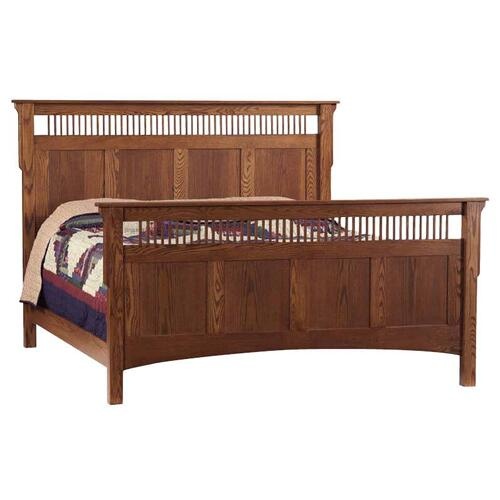 Deluxe Mission King- Size Bed