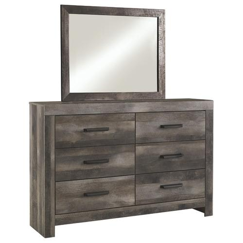 B2587 2PC Set: Dresser and Mirror (Ralinksi)