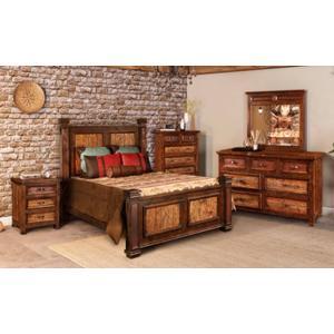 Horizon Home Furniture - Copper Ridge Nightstand