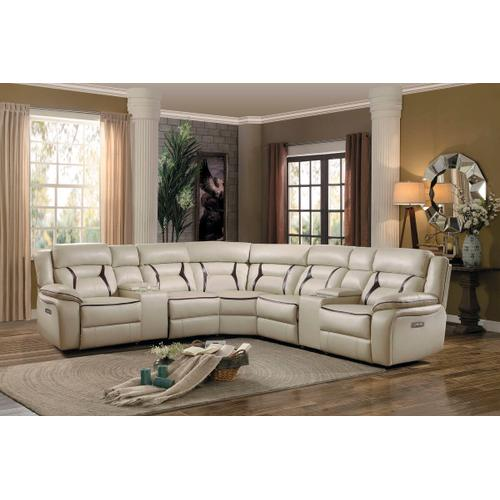 Amite Power Reclining 6pc. Sectional