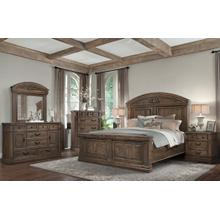 See Details - Barcelona King Bed, Dresser, Mirror, Chest and Nightstand (QUEEN AVAILABLE)