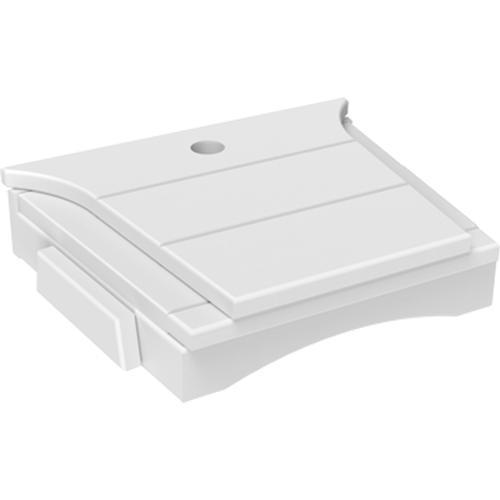 Balcony Tete-a-Tete Table White