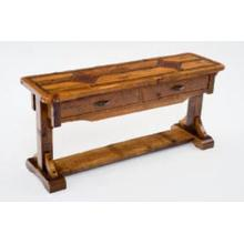 Mustang Canyon Timber Frame Sofa Table