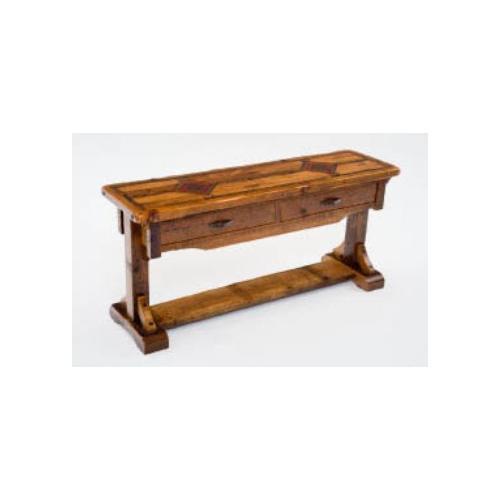 Mustang Canyon Timber Frame Sofa Table
