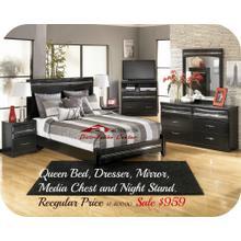 Ashley B186 Obsidian Bayou at Aztec Furniture Houston Texas