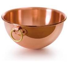 Mauviel M'Passion Copper Egg White Beating Bowl, 2.6 qt
