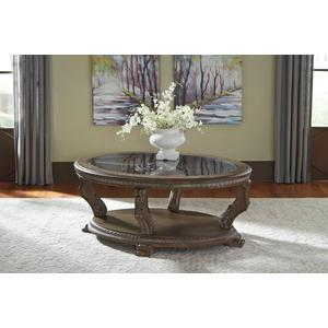 Signature Design By Ashley - Charmond Oval Cocktail Table