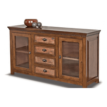 Torreon Wood Top Console
