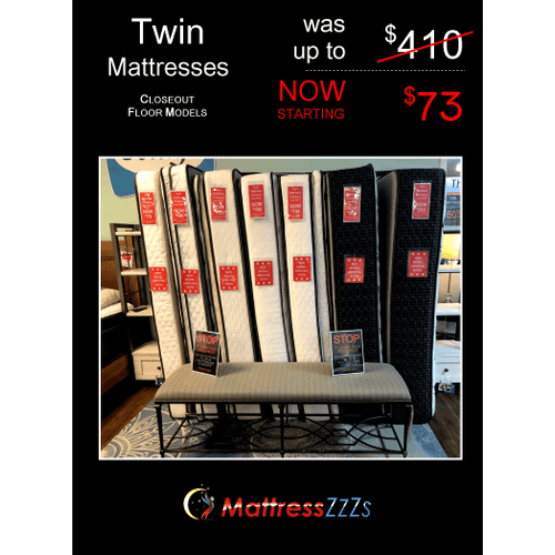 Twin Mattress Closeout!
