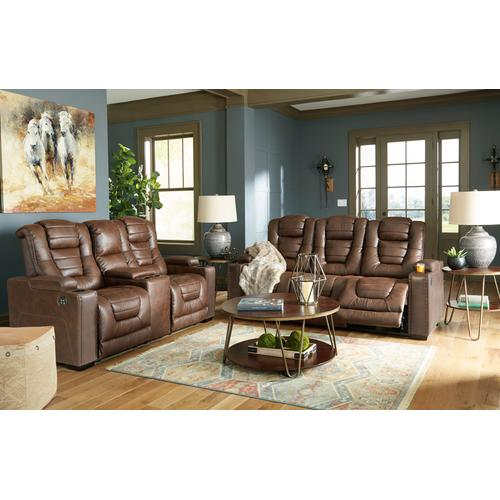 Signature Design By Ashley - Owner's Box Power Reclining Sofa Thyme