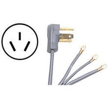 4ft 3 Prong 220v Range Cord