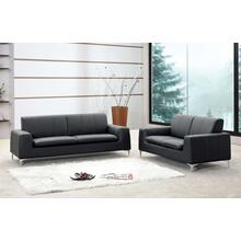 Tribeca Leather Sofa Love