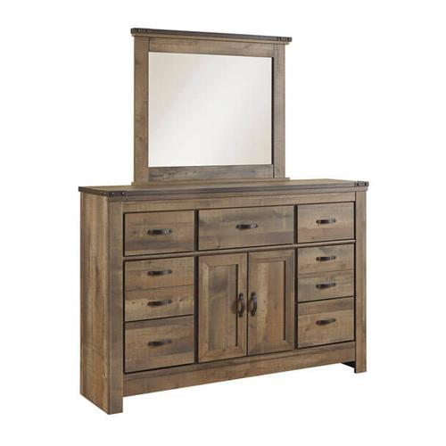 Signature Design By Ashley - Trinell - Brown 2 Piece Bedroom Set