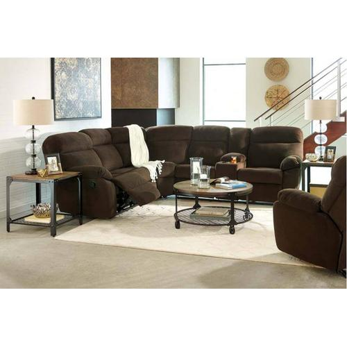 DEMARION - CHOCOLATE COLLECTION SECTIONAL PACKAGE