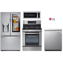 LG Kitchen Package with InstaView Refrigerator