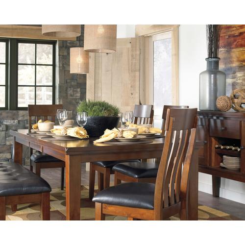 Ralene Dining Table and 4 Side Chairs