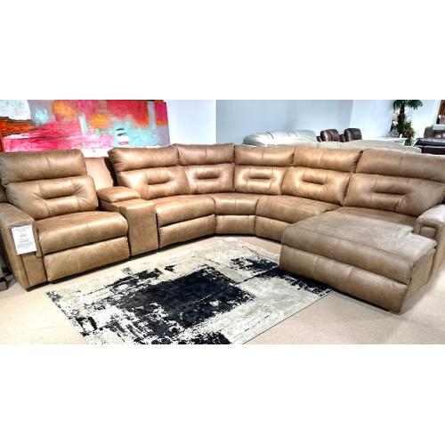 Southern Motion - Impact Vintage Full Power Reclining Sectional