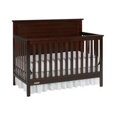 View Product - Fisher-Price Lucas Convertible Crib, Light Espresso