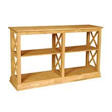 Hampton Long Sofa Table