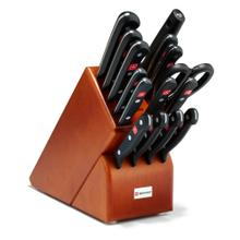 Wusthof Gourmet Knife Block Set Cherry, 16-Piece
