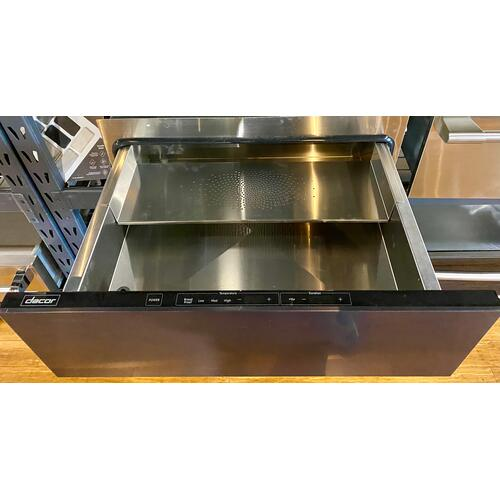 """Dacor - Dacor EWD30SCH   Heritage 30"""" Epicure Warming Drawer, Silver Stainless Steel"""