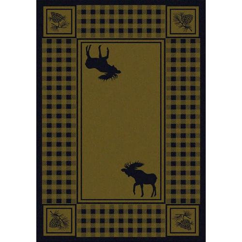 American Dakota Rugs - Moose Refuge