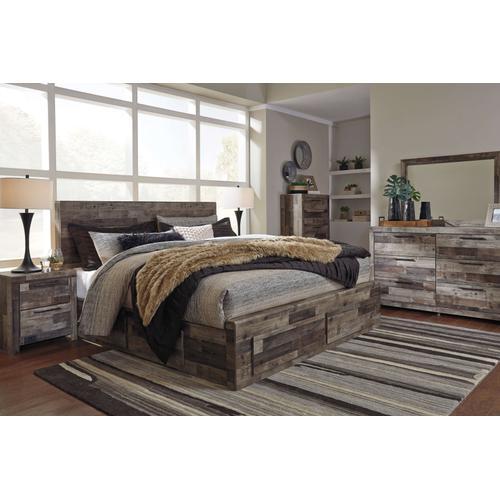 Ashley Furniture - Derekson Queen 6 Storage Drawer 5 Piece Bedroom Set