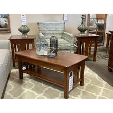 Amish Metro Coffee and End Tables Set