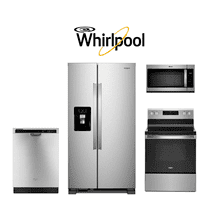 Whirlpool 4 Piece Kitchen Package. Price Valid Thru 11/4/20