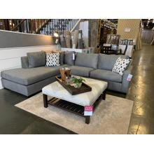 See Details - 2pc SECTIONAL WITH CHAISE