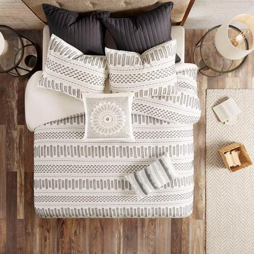 Product Image - Rhea Cotton Jacquard Full/Queen Comforter Mini Set